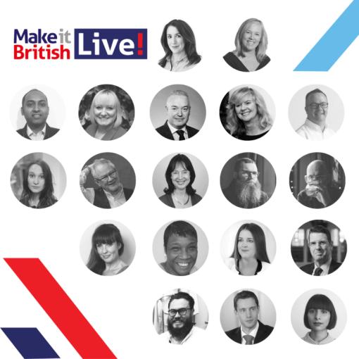 Speaker line-up for Make It British Live 2019