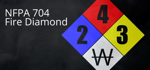 NFPA 704 Fire Diamond