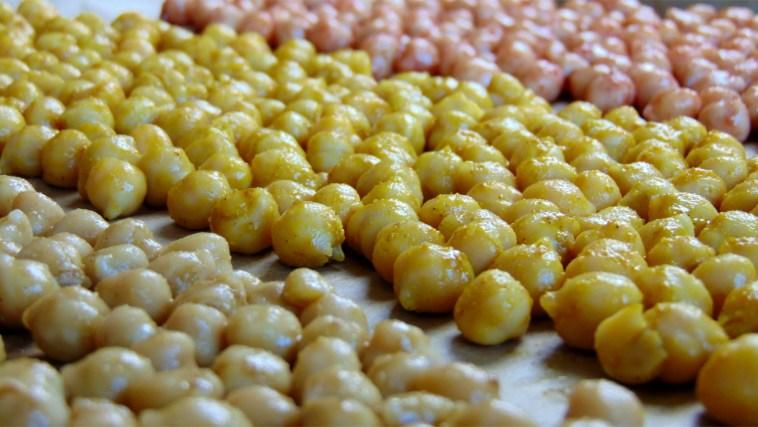 geröstete kichererbsen kichererbsensnack snack