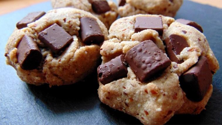 Glutenfreie Chocolate Cookies Teffmehl