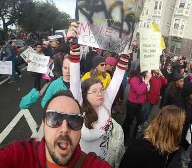 Oakland Women's March 2017 photo by Kat Zigmont.