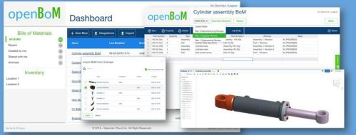 OpenBOM Users Can Upload BOMs to BOX