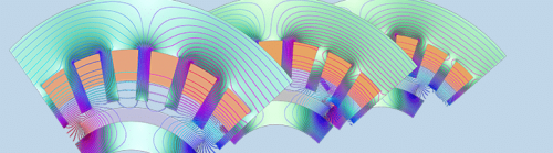 Innovative motor designs for electric cars come to life through Multiphysics
