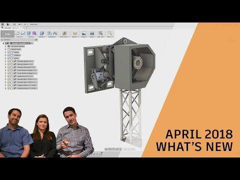 What's New in Fusion 360 April 2018 Update