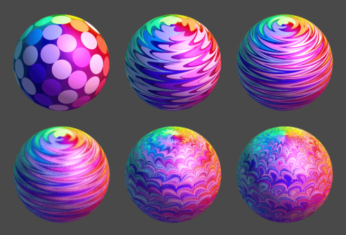 Italian Marbled Voxels on the Stratasys J750