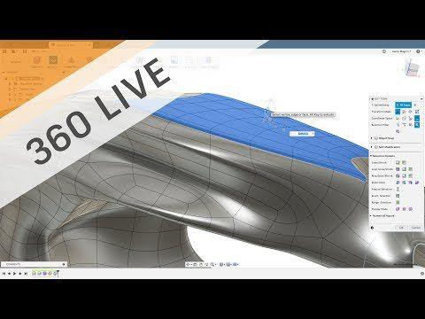 360 LIVE: Sculpting Generative Results