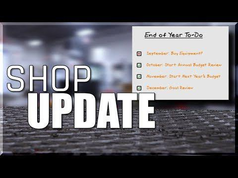 Shop Update!  Dec 2018