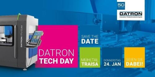 DATRON Tech Day 2019 – Passion for aluminum machining