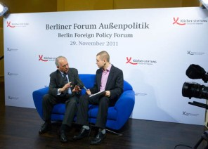 Berliner Forum Aussenpolitik Körber-Stiftung. Berlin, 29.11.2011. Foto: Marc Darchinger www.darchinger.com