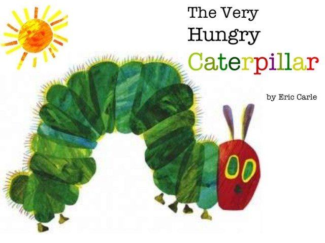 Homeschooling – The Very Hungry Caterpillar.