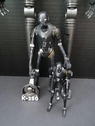 "K-2SO: 20"", 6"", 3.75"" figures with pin"