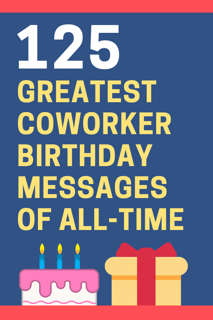 Funny Birthday Quotes For Coworker : funny, birthday, quotes, coworker, Inspiring, Birthday, Wishes, Coworker, Colleague, FutureofWorking.com
