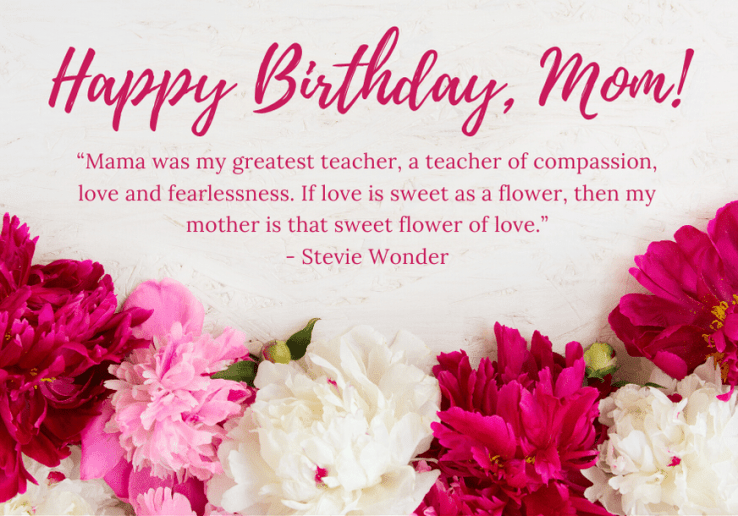 SENTIMENTAL AND SWEET BIRTHDAY MESSAGES FOR MOM