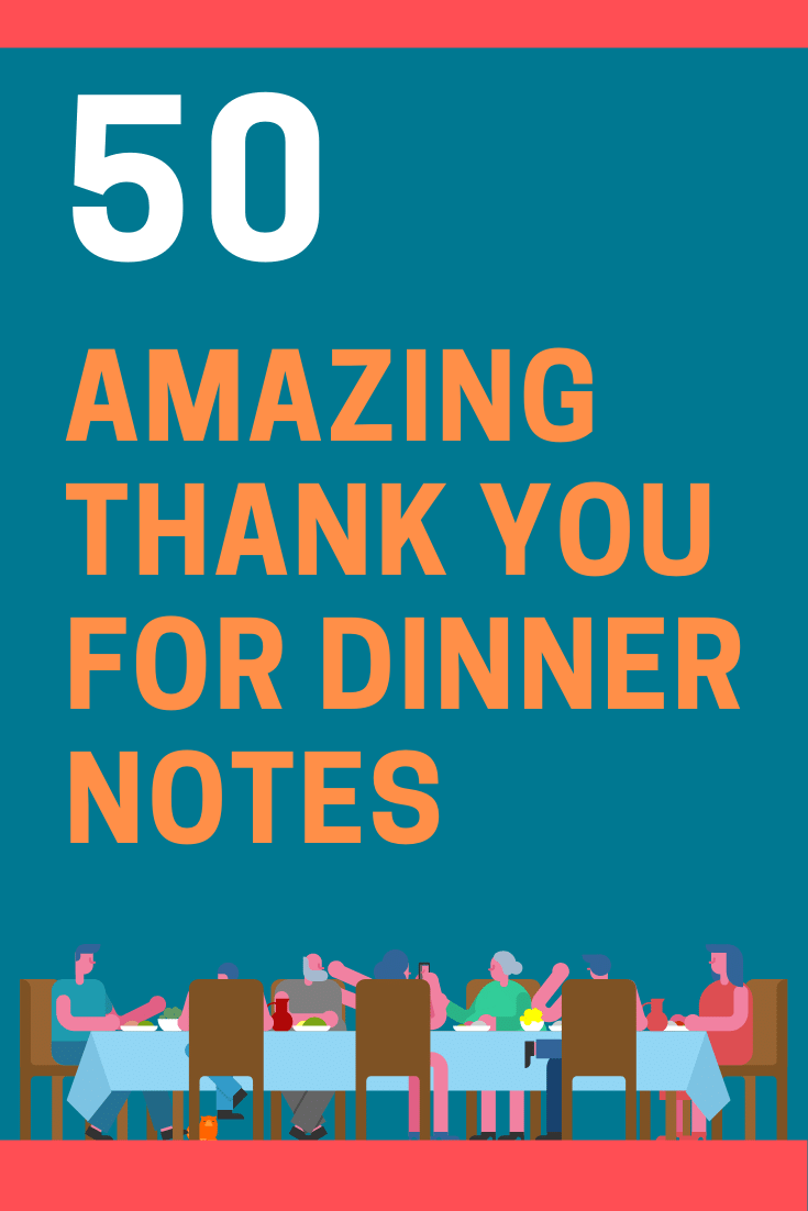 Thank You For Delicious Lunch Quotes : thank, delicious, lunch, quotes, Amazing, Thank, Dinner, Notes, FutureofWorking.com
