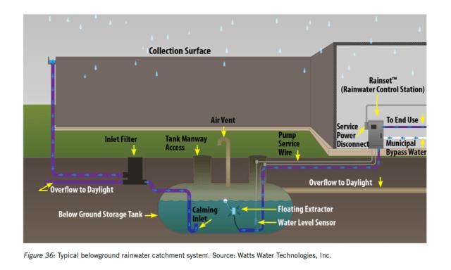 rain capture system