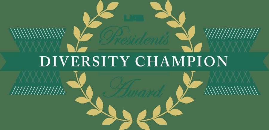 UAB President's Diversity Champion Award