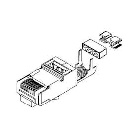 Belden CAPFCF-B25 CAT6/6A Shielded Modular Connectors (Bag
