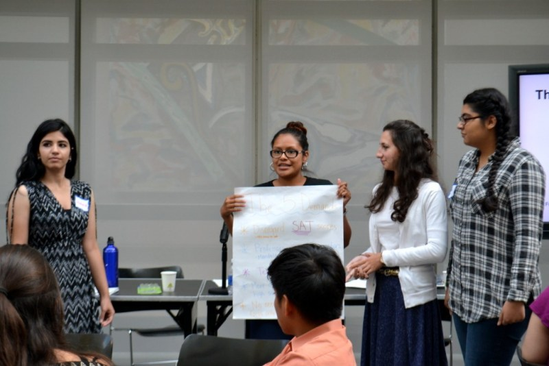 Mentors share their ideas for campus resources.