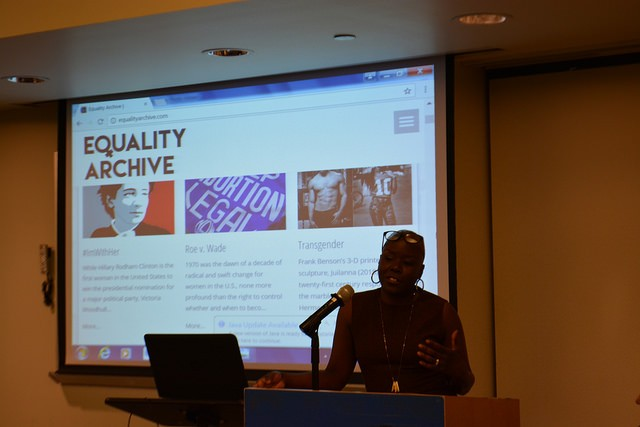 Dr. Shelly Eversley speaks about the Equality Archive