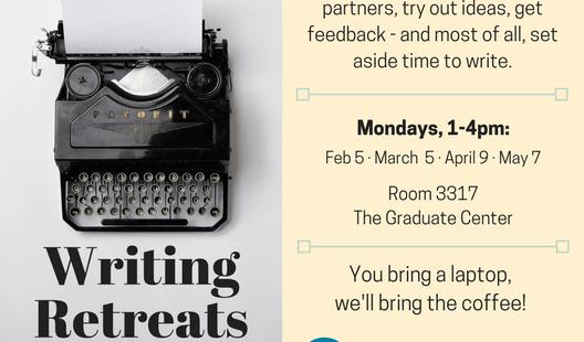 Announcing Writing Retreats at the Graduate Center