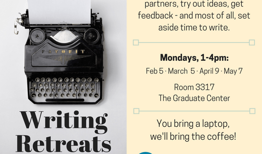 Writing Retreats: Community, consultations, and coffee!
