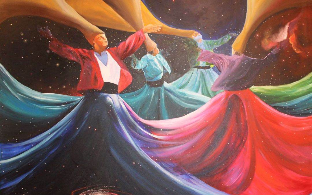 The Whirling Dervishes of Istanbul, Turkey