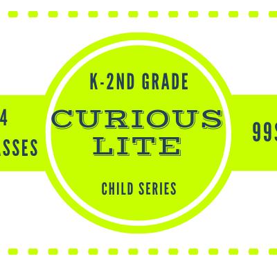 Step 2: Select a LITE Workshop for your K – 2nd Grader.