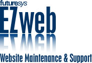Futuresys EZweb, website maintenance and support