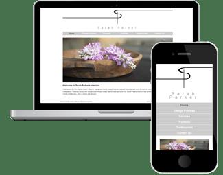Sarah Parker Interiors Website