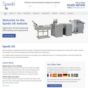 Futuresys release new website for Spedo