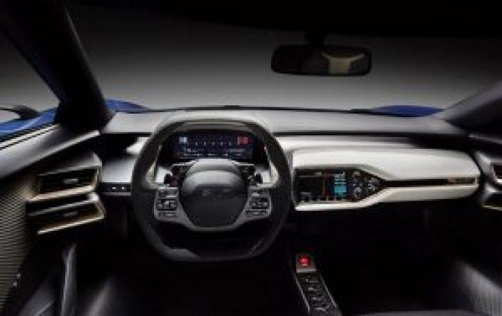 Cockpit do Ford GT