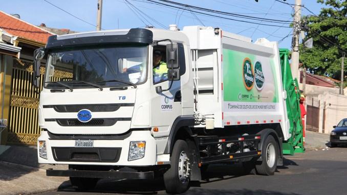 caminhão 100% elétrico BYD