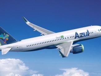 Azul aeronave