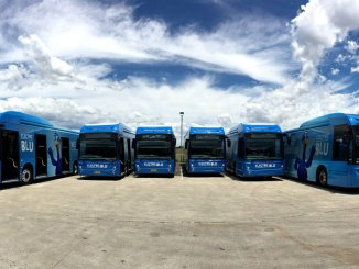 Ônibus elétricos BYD