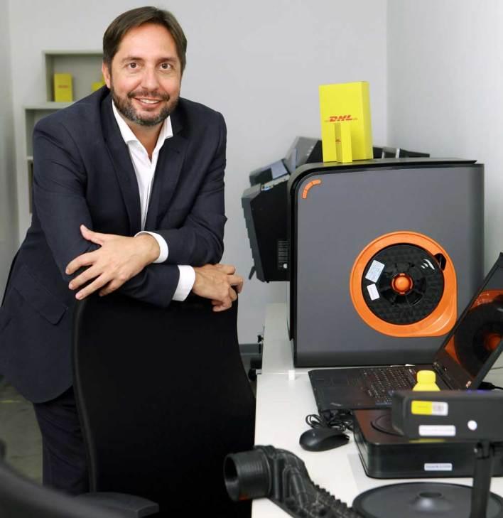 Maurício Almeida, diretor de operações da DHL Supply Chain Brasil