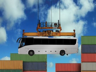 Exportação de carrocerias de ônibus
