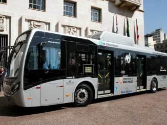 Primeiro ônibus elétrico produzido no Brasil