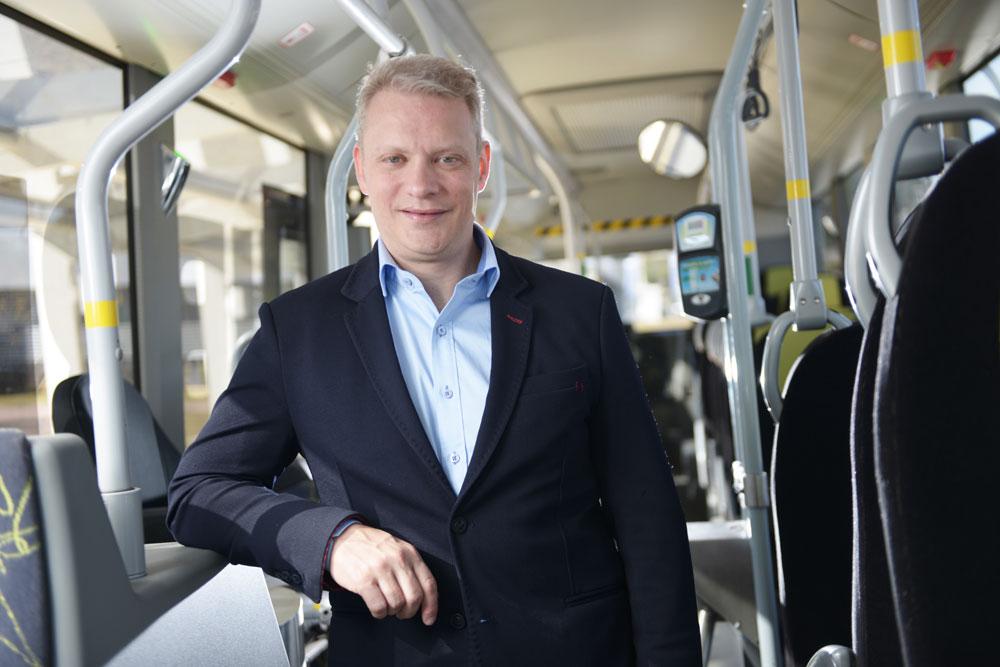 Fabiano Todeschini, presidente do Volvo Buses Latin America - Grupo Volvo
