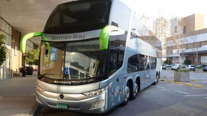 Mercedes-Benz vende 72 chassis rodoviários