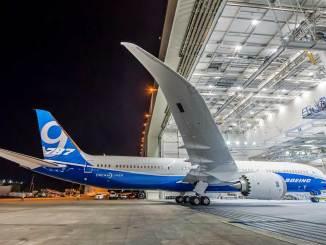 787-9 Dreamliners da Boeing