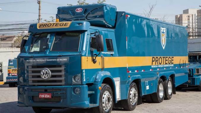 caminhão blindado para cargas refrigeradas