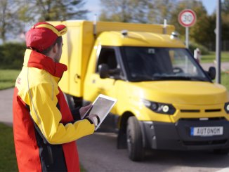 DHL com sistema de direção autônoma da ZF