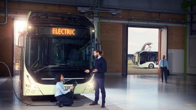 novo Volvo 7900 Electric