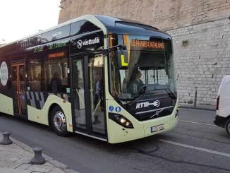 ônibus elétrico da Volvo