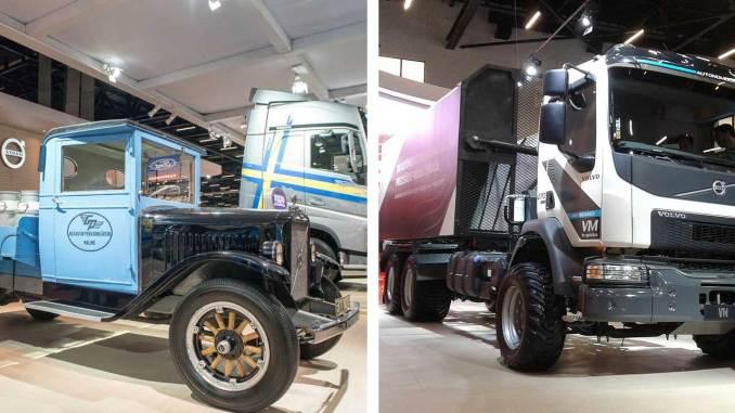 relíquias da Scania MBB e Volvo