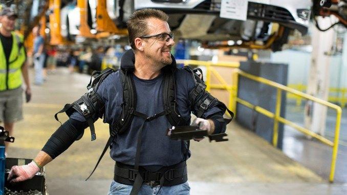 ford testa exoesqueleto