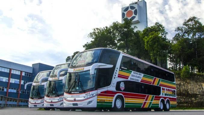 Marcopolo exporta 30 Double Decker para Argentina
