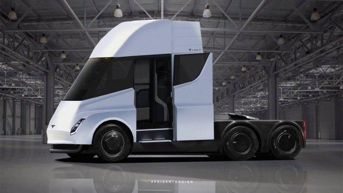 DHL faz encomenda de dez caminhões Tesla