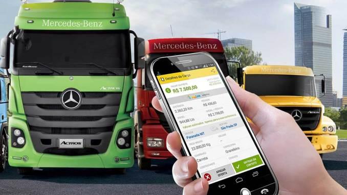 Mercedes-Benz como sócia do TruckPad