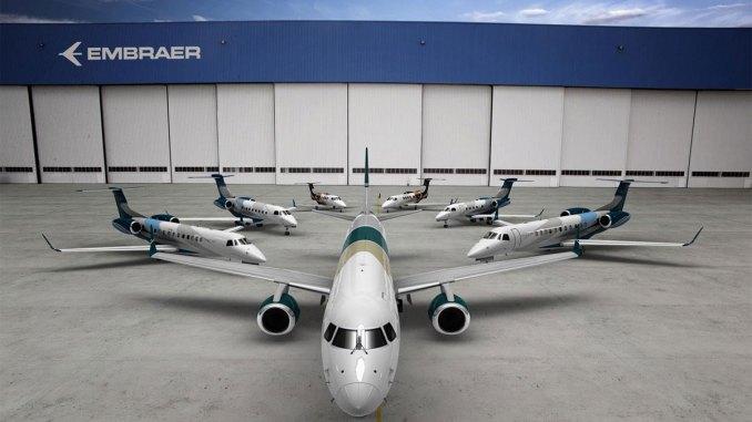 Embraer entregou 210 jatos em 2017